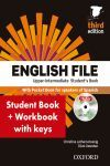 ENGLISH FILE UPPER INTERMEDIATE SB+WB W/K PK 3ED. (THIRD EDITION)