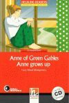 ANNE GREEN GABLES - ANNE GROWS UP.  level 3