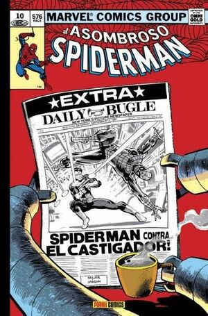 EL ASOMBROSO SPIDERMAN 10.¿HEROE O AMENAZA?  (MARVEL GOLD)