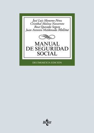 16ª ED. MANUAL DE SEGURIDAD SOCIAL