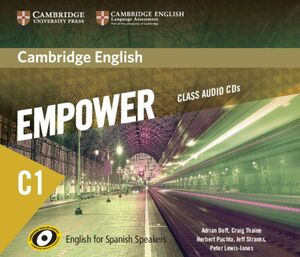 CAMBRIDGE ENGLISH EMPOWER FOR SPANISH SPEAKERS C1 CLASS AUDIO CDS (5)
