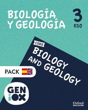 BIOLOGÍA Y GEOLOGÍA 3º ESO. GENIOX PROGRAMA BILINGÜE ANDALUCÍA