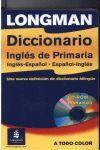 DICCIONARIO PRIMARIA ESPAÑOL/INGLES INGLES/ESPAÑOL LOGMAN