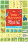 APRENDE A DIBUJAR ANIMALES DIBUJA PASO A PASO