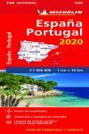 MAPA NATIONAL ESPAÑA-PORTUGAL 2020