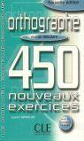 ORTHOGRAPHE 450 NOUVEAUX EXCERCISES DEBUTANT LIVRET CORRIGES INTERIEUR