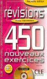 REVISIONS 450 NOUVEAUX EXERCISES INTERMEDIAIRE CORRIGES + 1 C AUDIO