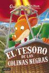 EL TESORO DE LAS COLINAS NEGRAS. GERONIMO STILTON 56