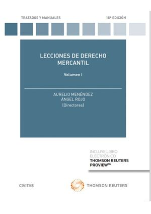 LECCIONES DE DERECHO MERCANTIL VOLUMEN I (PAPEL + E-BOOK)