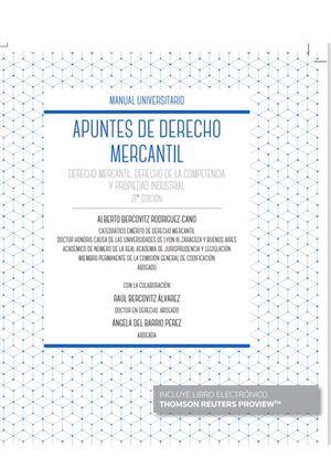 21ª ED. APUNTES DE DERECHO MERCANTIL (PAPEL + E-BOOK)