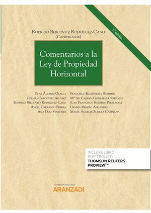 COMENTARIOS A LA LEY DE PROPIEDAD HORIZONTAL (DUO)