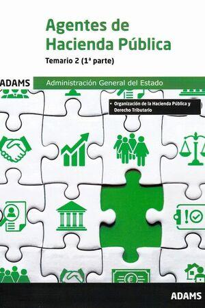 AGENTES DE HACIENDA PUBLICA - TEMARIO 2 (1º Y 2º PARTE)