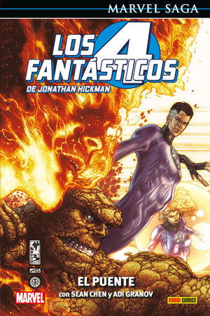 LOS 4 FANTASTICOS DE JONATHAN HICKMAN 01: EL PUENT