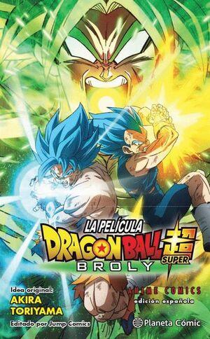 DRAGON BALL SUPER BROLY ANIME COMIC