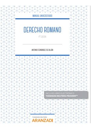 4ª ED. DERECHO ROMANO (PAPEL + E-BOOK)