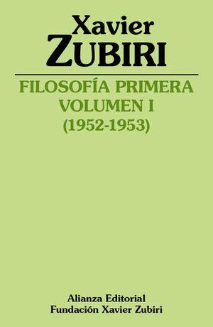FILOSOFÍA PRIMERA (1952-1953)