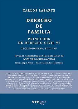 PRINCIPIOS DE DERECHO CIVIL. TOMO VI. DERECHO DE FAMILIA