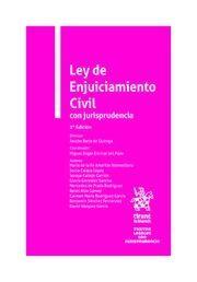 LEY DE ENJUICIAMIENTO CIVIL CON JURISPRUDENCIA. 2ª ED.