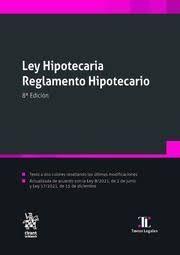 LEY HIPOTECARIA REGLAMENTO HIPOTECARIO