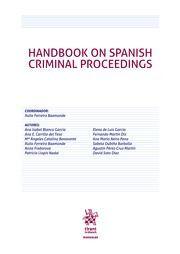 HANDBOOK ON SPANISH CRIMINAL PROCEEDINGS