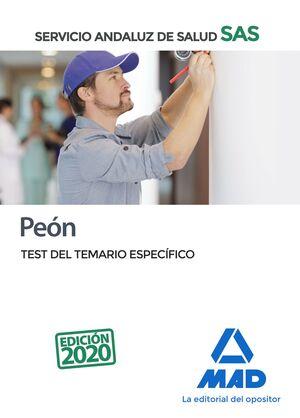 PEÓN DEL SERVICIO ANDALUZ DE SALUD. TEST