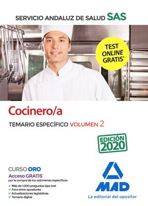 COCINERO TEARIO ESPEFICOVOL 2 SAS