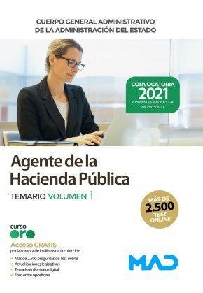HACIENDA AGENTES TEMARIO 1 2021