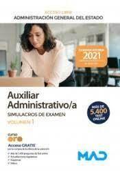 AUXILIAR ADMINISTRATIVO/A ADMINISTRACIÓN GENERAL DEL ESTADO. ACCESO LIBRE (EDICI