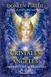 CRISTALES Y ANGELES (PACK LIBRO GUIA Y 44 CARTAS ORACULO)