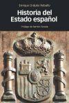HISTORIA DEL ESTADO ESPAÑOL