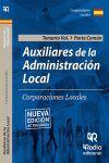 AUXILIARES DE LA ADMINISTRACIÓN LOCAL. PARTE COMÚN. VOLUMEN 1.
