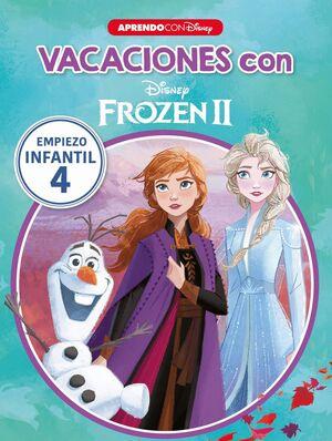 VACACIONES CON FROZEN II (LIBRO EDUCATIVO DISNEY CON ACTIVIDADES)               EMPIEZO... INFANTIL 4