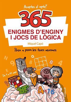365 ENIGMES D´ENGINY I JOCS LOGICA