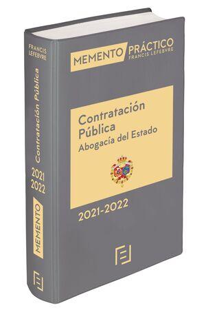 MEMENTO CONTRATACIÓN PÚBLICA (ABOGACÍA DEL ESTADO) 2021-2022