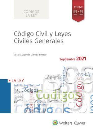 CÓDIGO CIVIL Y LEYES CIVILES GENERALES 2021