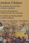 ESTUCHE - ANTÓN CHÉJOV - SEÑORA PERRITO -TRES HERMANAS- VIOLIN ROTHS..