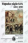 ESPAÑA: SIGLO XIX (1834-1898)