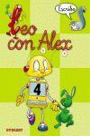 LEO CON ALEX -, ESCRITURA, 4 EDUCACIÓN INFANTIL PAUTA