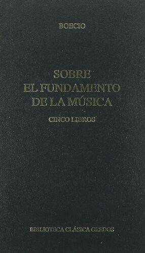 SONRE EL FUNDAMENTO DE LA MUSICA