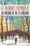 LO MEJOR DE IR ES VOLVER (IX)
