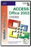 GUÍA RÁPIDA ACCESS 2003
