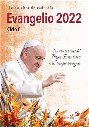 EVANGELIO 2022 CON EL PAPA FRANCISCO - LETRA GRANDE
