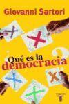 ¿QUE ES LA DEMOCRACIA?