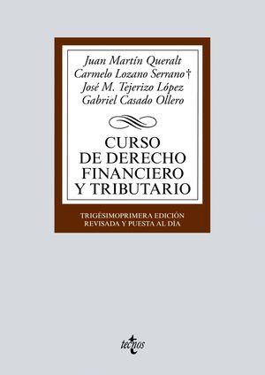 31ª ED. CURSO DE DERECHO FINANCIERO Y TRIBUTARIO