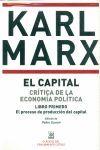 EL CAPITAL 3 VOLS. CRITICA DE LA ECONOMIA POLITICA