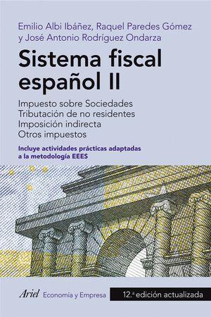 SISTEMA FISCAL ESPAÑOL II