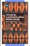 ANTROPOLOGIA Y COMPARACION CULTURAL: MÉTODOS Y TEORÍAS