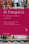 SISTEMA DE FRANQUICIA + CD FUNDAMENTOS TEORICOS PRACTICOS