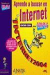 APRENDE BUSCAR INTERNET PARA TORPES 2004