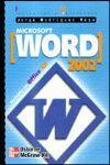 MICROSOFT WORD 2002 INICIACION REFERENCIA